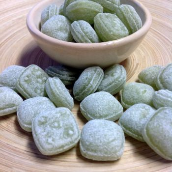 Bonbons-Pfefferminz-Steine