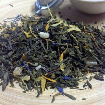 Grüner Tee Tropenfeuer