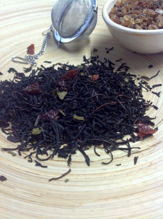 Schwarzer Tee Brombeere von Gewürzversand Munzert