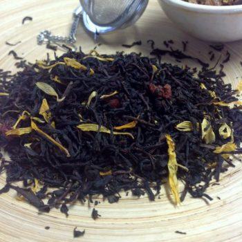 Schwarzer Tee Cranberry von Gewürzversand Munzert