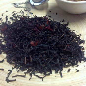 Schwarzer Tee Erdbeere Vanille von Gewürzversand Munzert
