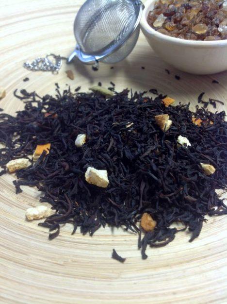 Schwarzer Tee Glühwein von Gewürzversand Munzert