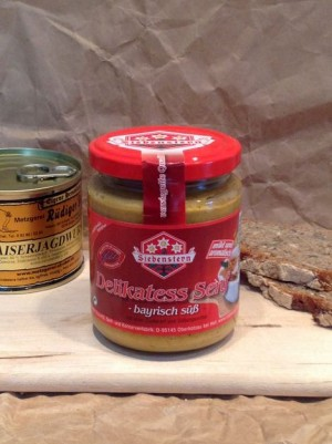 Delikatess Senf, bayerisch süß