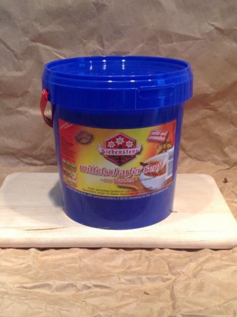 Mittelscharfer Senf 1000ml Eimer