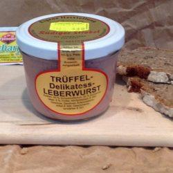 Trüffel Leberwurst
