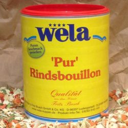 WELA Rindsbouillion 62,5l