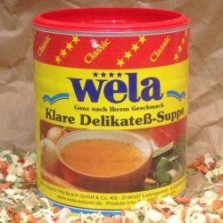 WELA Delikatesssuppe 62,5l