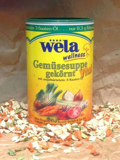 WELA Gemüsesuppe Vital 14l