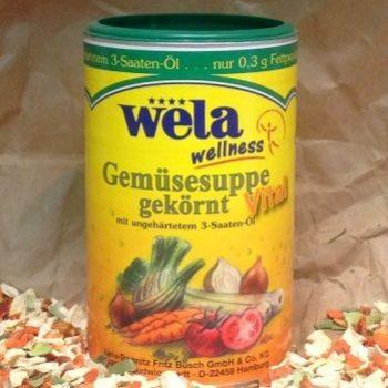 Gemüsesuppe Vital, gekörnt