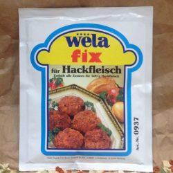 WELA Fix Hackfleisch