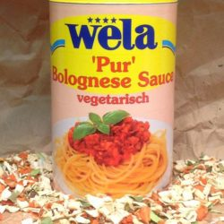 WELA Bolognese Sauce vegtarisch