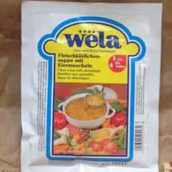 WELA Fleischklöschensuppe