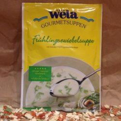 WELA Gourmet Frühlingszwiebelsuppe