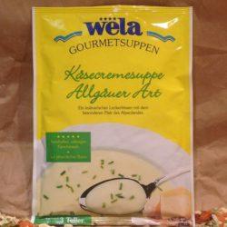 WELA Gourmet Allgauer Käsecreme