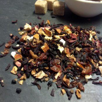 Früchte-Tee ohne Aroma