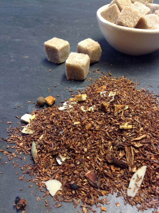 Rotbusch Tee Kaminfeuer