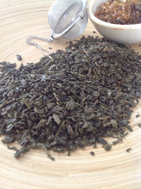 Grüner Tee ohne Aromastoffe