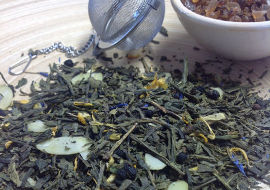 Grüner Tee mit Aroma
