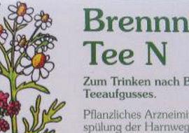 Heil- und Arznei-Tee Aufgussbeutel