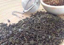 Grüner Tee ohne Aroma