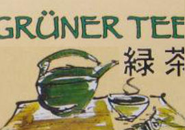 Grüner Tee Aufgussbeutel