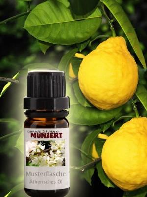 Ätherisches Öl Zitrone von Gewürzversand Munzert