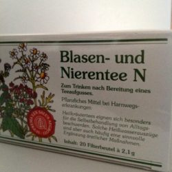Blasen und Nierentee 20 Beutel von Gewürzversand Munzert