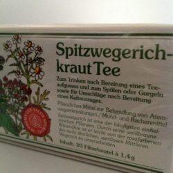 Spitzwegerichtee 20 Beutel von Gewürzversand Munzert