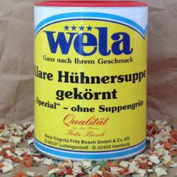 Wela Hühnersuppe Spezial von Gewürzversand Munzert