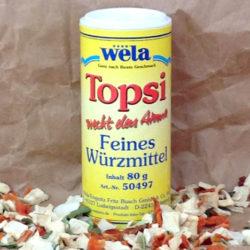 Wela Topsi unjodiert von Gewürzversand Munzert