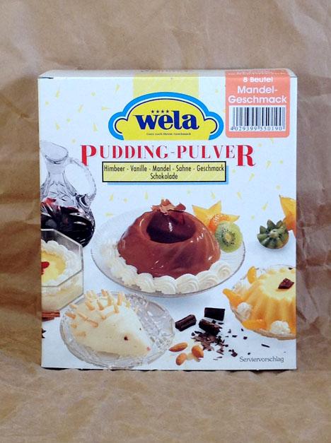 Wela Mandel Pudding von Gewürzversand Munzert