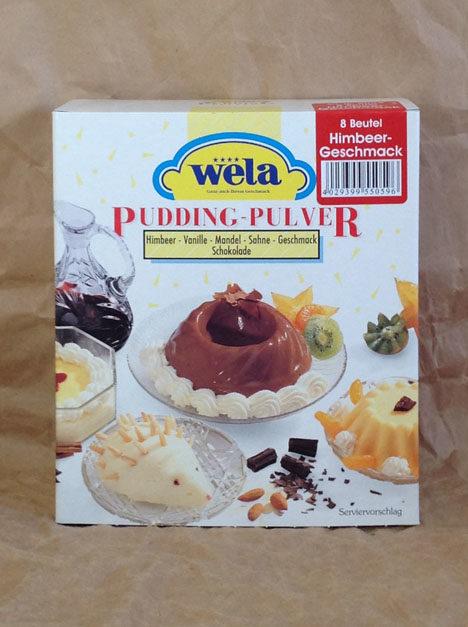 Wela Himbeer Pudding von Gewürzversand Munzert