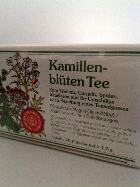 Kamillentee 20 Beutel von Gewürzversand Munzert