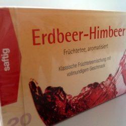 Erdbeer Himbeer Früchtetee 20 Beutel von Gewürzversand Munzert