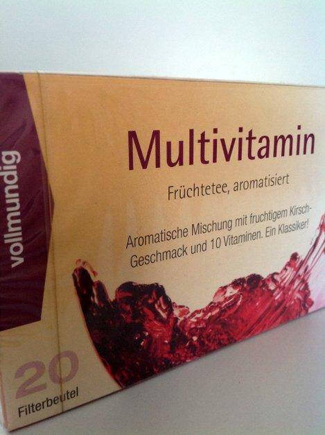 Multivitamin Früchtetee 20 Beutel von Gewürzversand Munzert