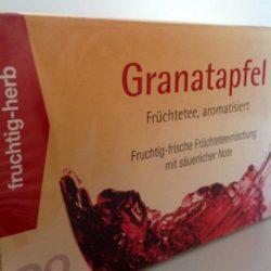Granatapfel Früchtetee 20 Beutel von Gewürzversand Munzert