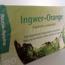 Inger Orange Kräutertee 20 Beutel von Gewürzversand Munzert